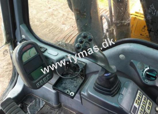 Volvo EC140 BLC - m/1200mm bånd og Rotortilt