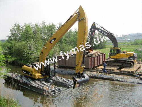 Caterpillar 320 D-LR - Ampfibie/Kan arbejde på vandet