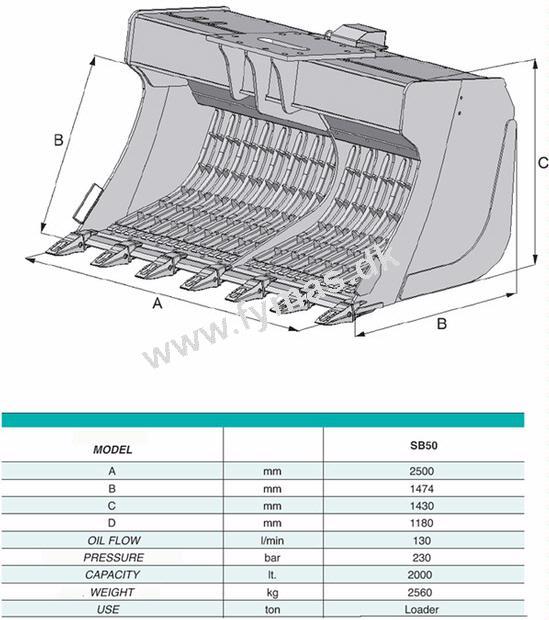 VTN SB50 Risteskovl m/vibration