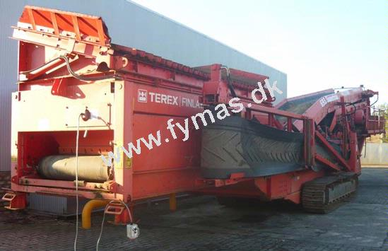 Terex Finlay 693 - På bånd