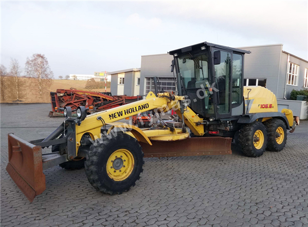 New Holland F106.6 A   - 6x6 All Wheel Drive