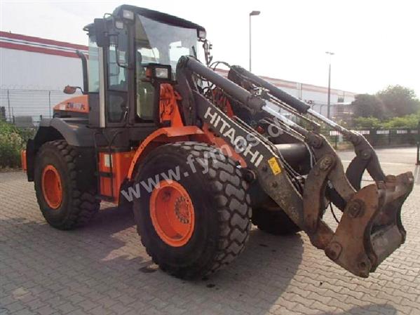 Hitachi ZW150PL - m/hurtigskift
