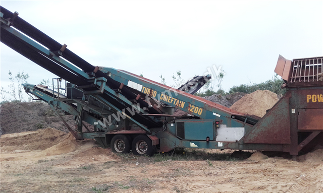Powerscreen Chieftain 1200