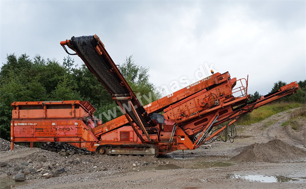 Terex Finlay 683 T Supertrack - On tracks