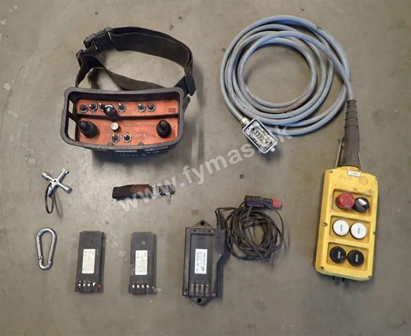 Rubble Master RM100 m/returbånd og eftersortering