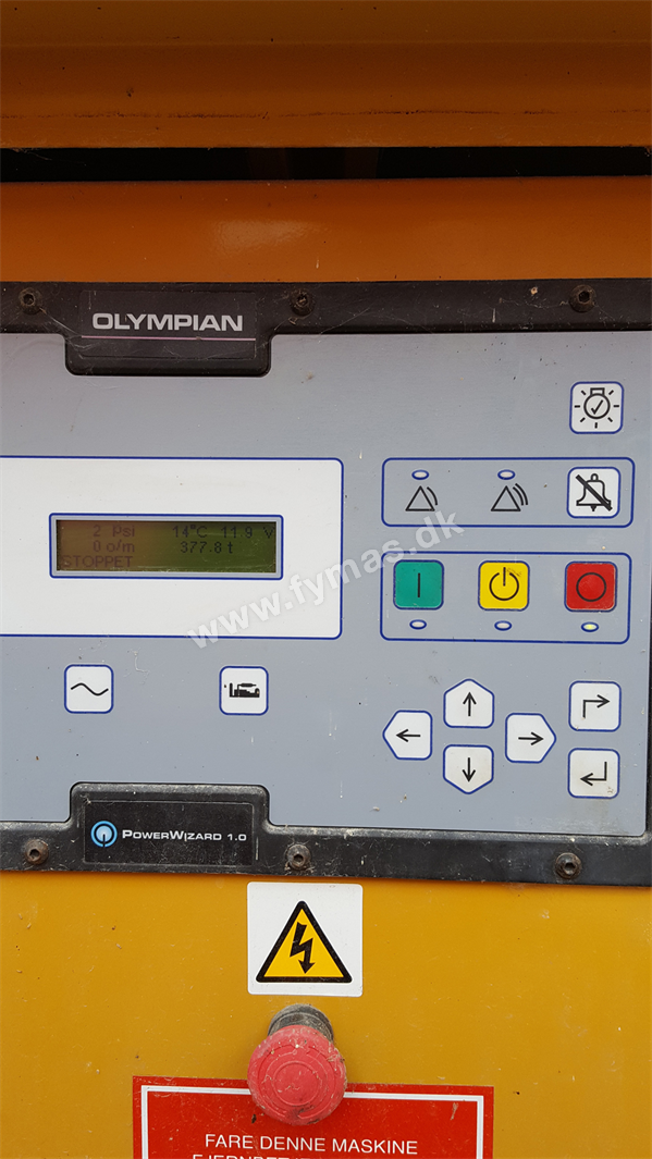 Olympian GEP 110 - kW 88 / 110 kVA