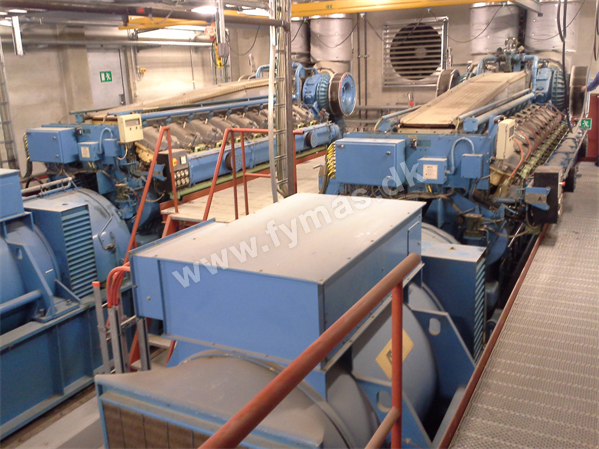 Rolls-Royce 2 x 3 MW (10KV/50HZ) - On Natural Gas On Natural gas