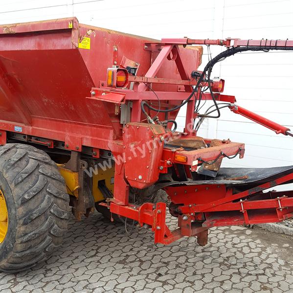 Hydrema 912 D m/Bredal sand layer