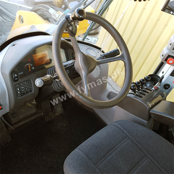 Volvo L90F Partikelfilter og hurtigskift