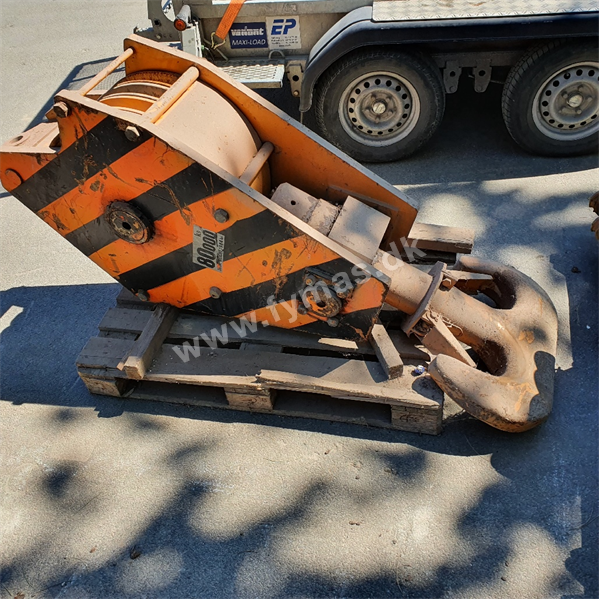 Ubekendt 26mm 4 sheave 80 ton 80 ton krog