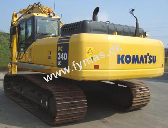 Komatsu PC340 LC-7