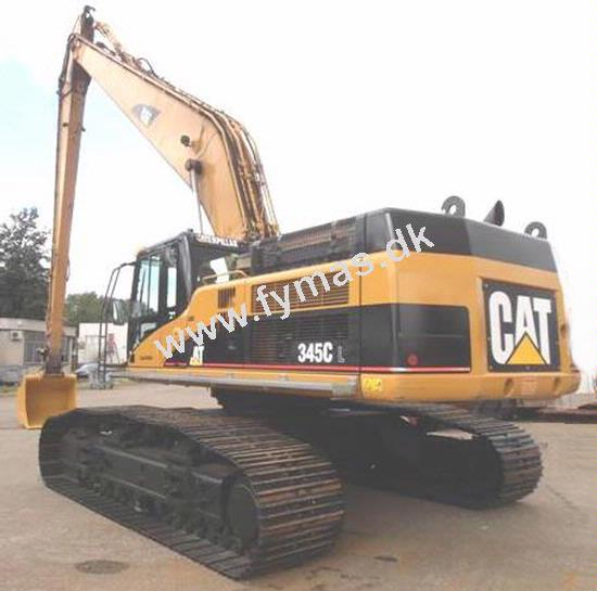 Caterpillar 345 CL - Lang gravebom
