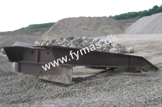 ABC Rampe / Læsserampe til 30 ton gummihjulslæsser